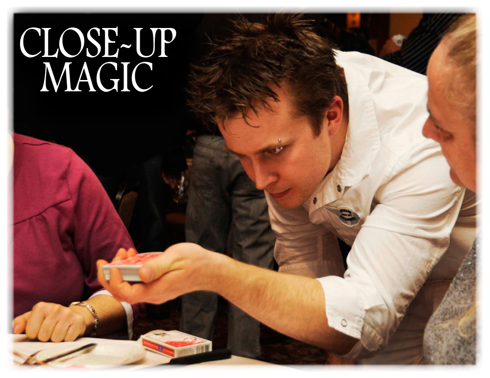 Close-up Magicians