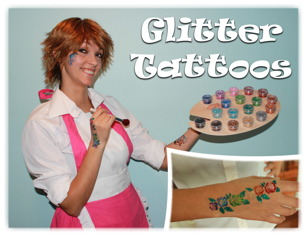 Glitter Tattoo Artists