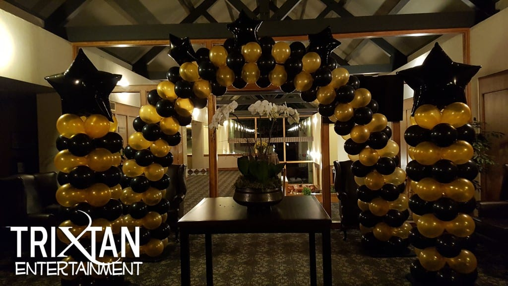 Balloon Arch Trixtan Entertainment Inc