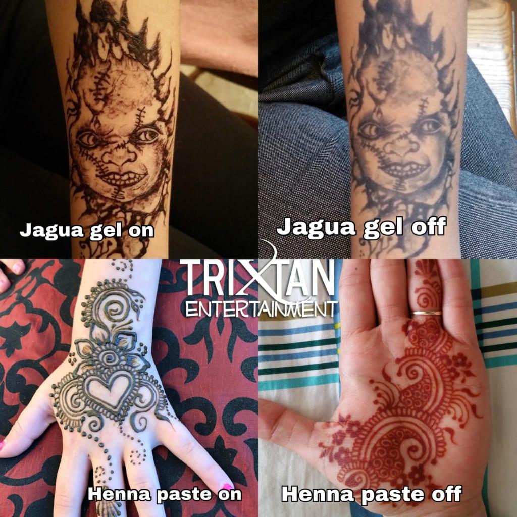 Henna And Jagua Temporary Tattoos Trixtan Entertainment Inc